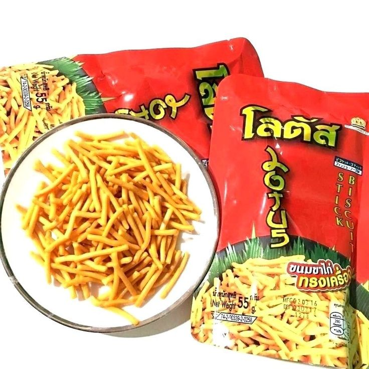 10x Chicken Legs Snacks Stick Biscuit Flavour Sweet & Spicy Thai Food Delicious  #LOTUS