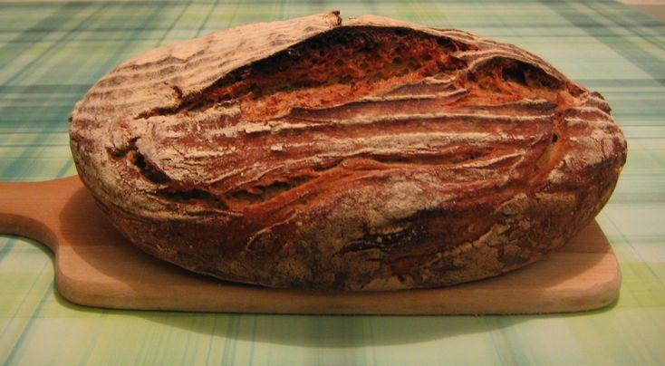 Kváskový chléb – špaldovo-žitný chléb