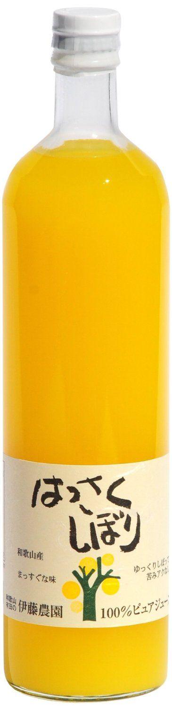 Amazon | 伊藤農園 100%ピュアジュース はっさく 750ml | 野菜ジュース・フルーツジュース 通販