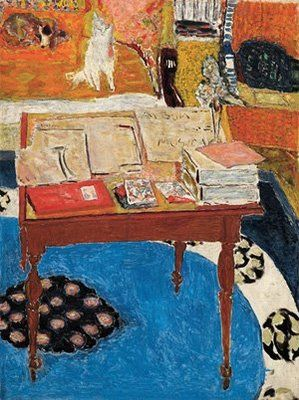 Bonnard: Interiors Paintings, Mouse Notebooks, Bonnard Exhibitions, Bonnard Stone, Work Tables, Tables Of, Art Interiors, Bonnard Interiors, Pierre Balmain