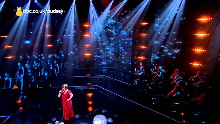Susan Boyle sings 'You Raise Me Up' for Children In Need Nov 15, 2013, in Glasgow, Scotland - televised Nov 16.