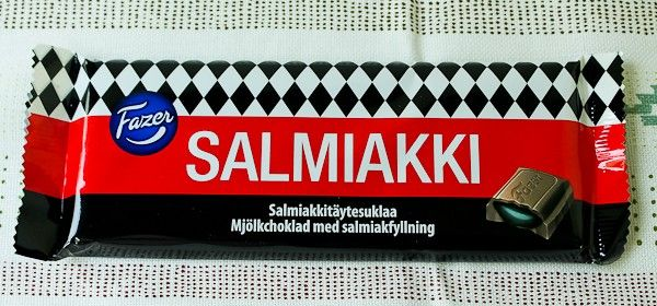 Karl Fazer, Salmiakki-Chocolate Bar - The Culinary Cellar