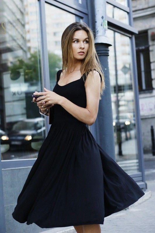 sukienka RZYMSKIE WAKACJE black