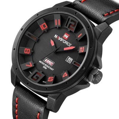Мужские кварцевые часы в стиле милитари, на кожаном ремешке КУПИТЬ - http://ali.pub/v036w   #лучшее  #китай  #пинтерест