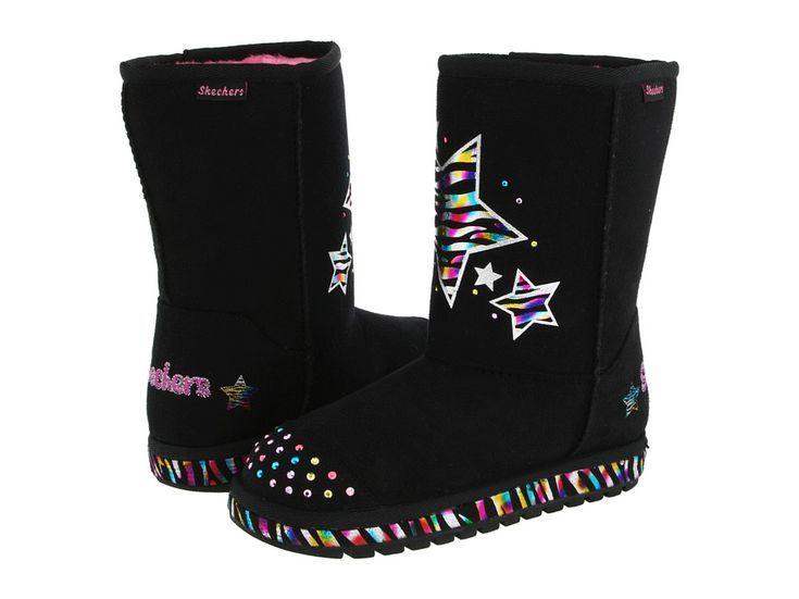 Budget-Friendly Shearling Boots for Kids: SKECHERS KIDS Twinkle Toes - Keepsakes - Bloom