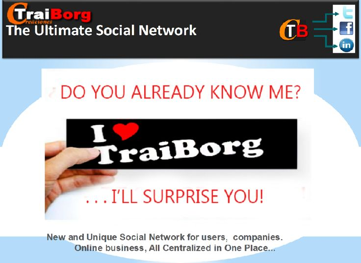 Traiborg is a Social Network,that pays you for helping Growing them. It is Free to join.And it is the First Social Network where Free Users can Earn Money!