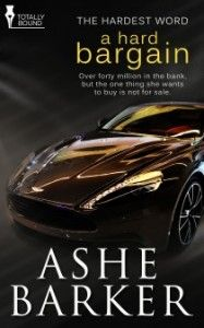 A Hard Bargain (The Hardest Word #1) by Ashe Barke The Jeep Diva