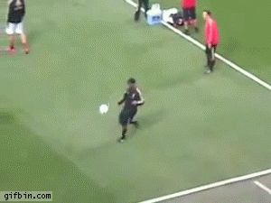 Best Soccer gifs EVER - Link includes Ronaldinho Amazing Touch & Nutmeg Neymar loses his pants in skill fail Higuita With Scorpion Kick Save v England Pogba Amazing Goal Joey Barton Tells Zlatan Ibrahimovic he has BIG NOSE