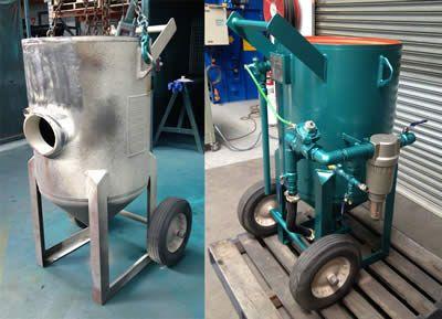 ABSS - Abrasive Blasting refurbished pot