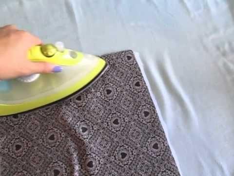 Dica de Costura - 5 maneiras de deixar seu tecido mais estruturado ! - YouTube