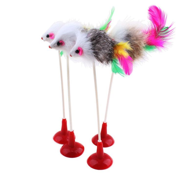 Hot 1pcs Funny Pet Cat Toys Feather False Mouse Bottom Sucker Cat Kitten Playing Toys Pet Seat Scratch Toy 20cm Free shipping #clothing,#shoes,#jewelry,#women,#men,#hats,#watches,#belts,#fashion,#style