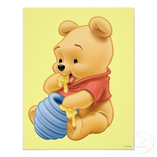 This is a photo of Universal Winnie the Pooh as a Baby