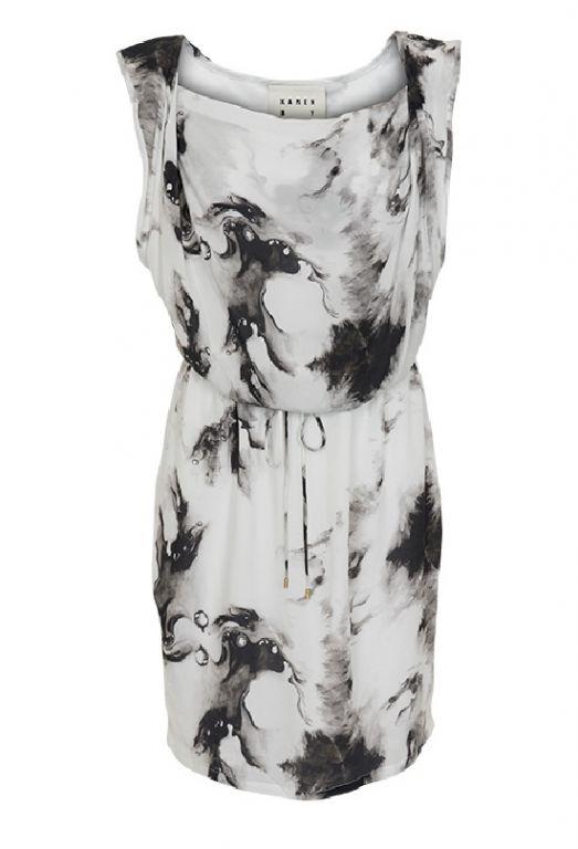 Karen By Simonsen Syva Dress Black 44106 - Kjoler/nederdele - MaMilla