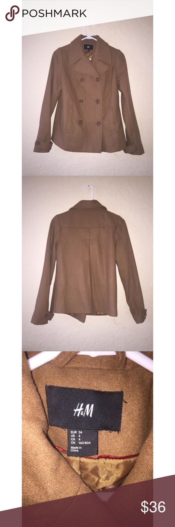 H&M brown coat Great condition H&M Jackets & Coats