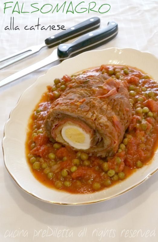 Falsomagro alla catanese, ricetta, cucina preDiletta