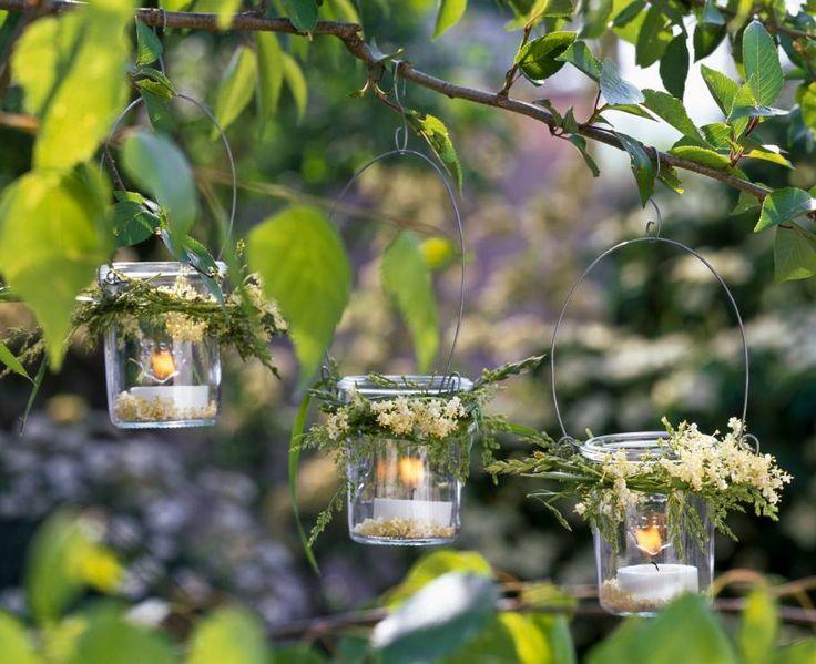 Lampiony ze słoików – o zapachu łąki - Lampiony ze słoików – zrób to sam