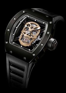 Часы мужчины люксовый бренд мода шторка RM052 кварцевые часы мужские часы черепа скелет часы horloge мужской relojes reloj mujer купить на AliExpress