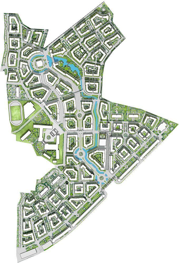 План города - Город-событие Лайково