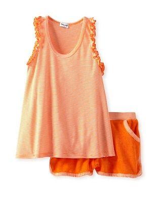 65% OFF Splendid Littles Girls 2-6X Oceanside Short Set (apricot)
