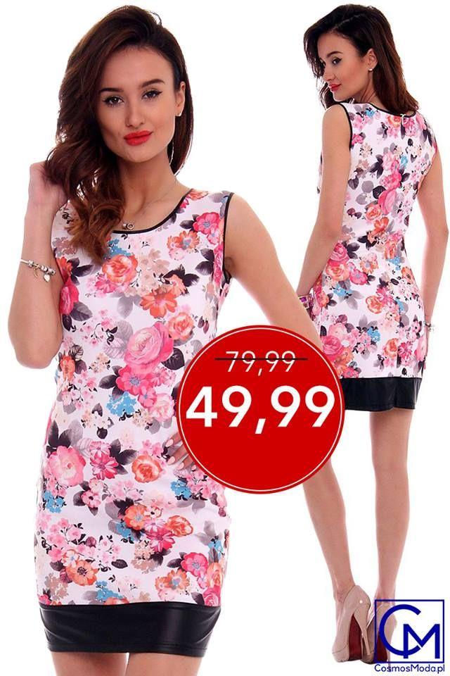 🌺🏵️🌻 3 wzory w ŚWIETNEJ cenie 🌷🌼🌹 ➡️ Link do produktu: http://bit.ly/SukienkaCM103 ⬅️ Stylistka Sara <3