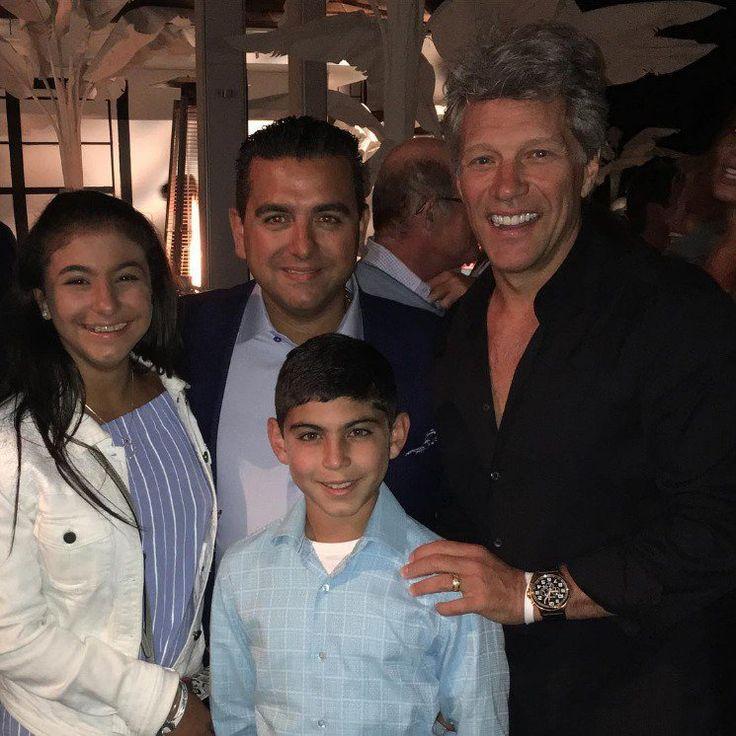 "itsjustme-itsmylife: ""  Jon Bon Jovi with celebrity chef Buddy Valastro in the Hamptons - September 3, 2016 Photo credit: buddyvalastro (IG) """