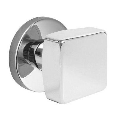 Emtek square modern door knob exterior interior fixtures - Contemporary interior door knobs ...