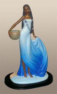African American Sculpture Figurines Yemaya