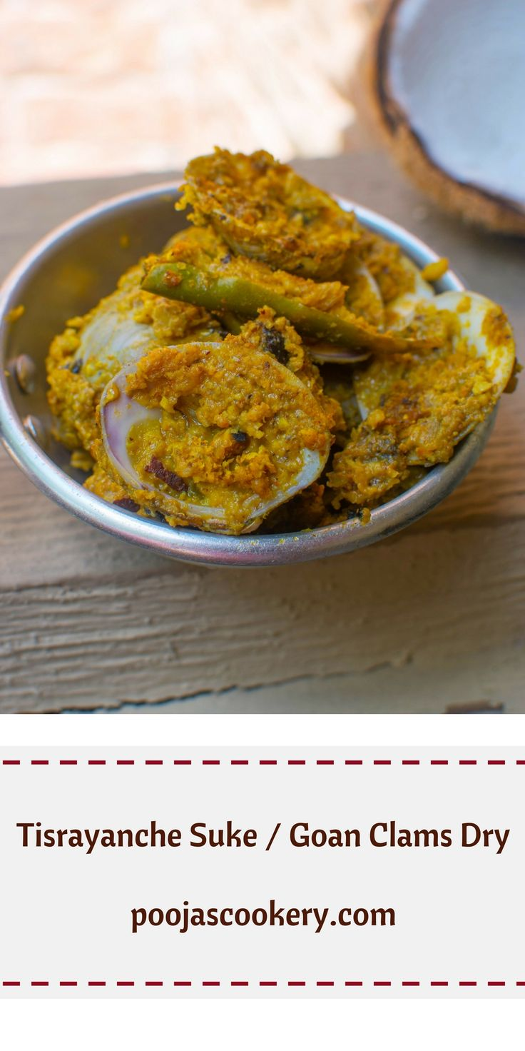 371 best foodpoojas cookery images on pinterest amazing quick easy and tasty clams side dish prepared in goaindia forumfinder Gallery