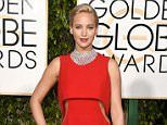 Jennifer Lawrence leads Golden Globes 2016 red carpet glamour with Jennifer Lopez | Daily Mail Online