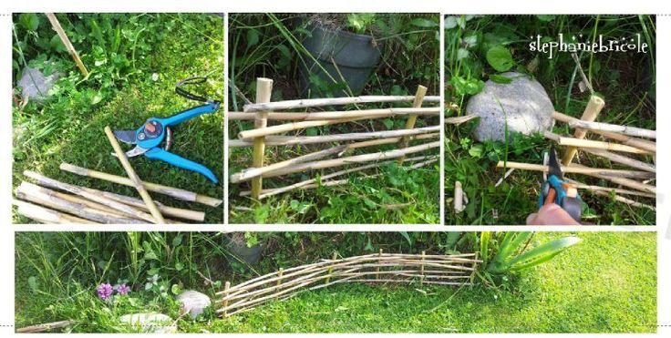 38 best bordures de jardin images on pinterest backyard for Decoration jardin bordure