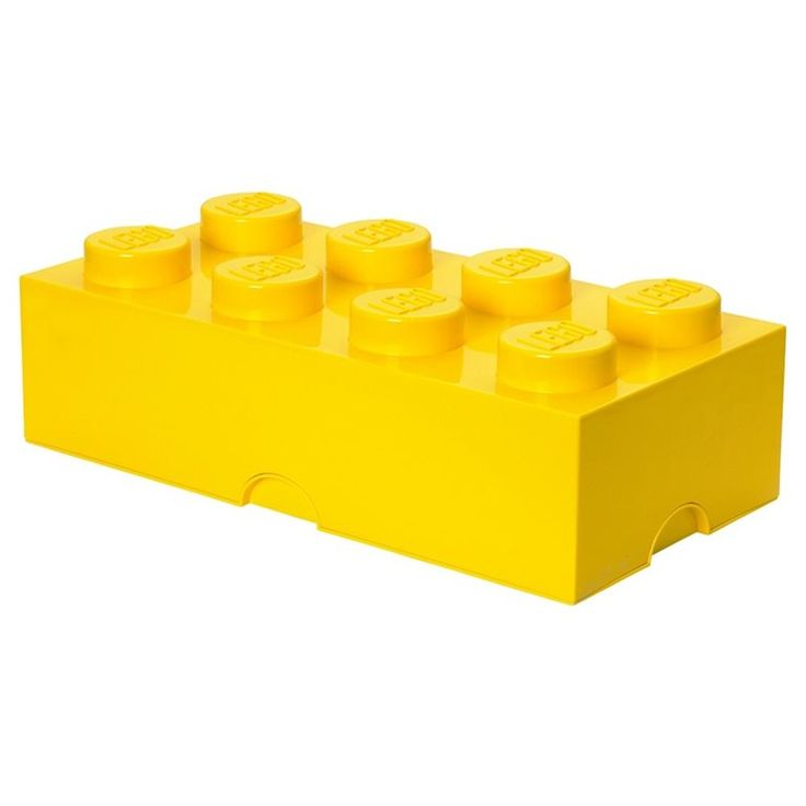 Ben ik nu gekrompen? Nee, het is oversized LEGO waar je al het speelgoed, je boeken of het extra beddengoed in kunt bewaren. Tover je woonkamer, keuken of slaapkamer om in je eigen LEGOLAND en geniet van een opgeruimd huis.