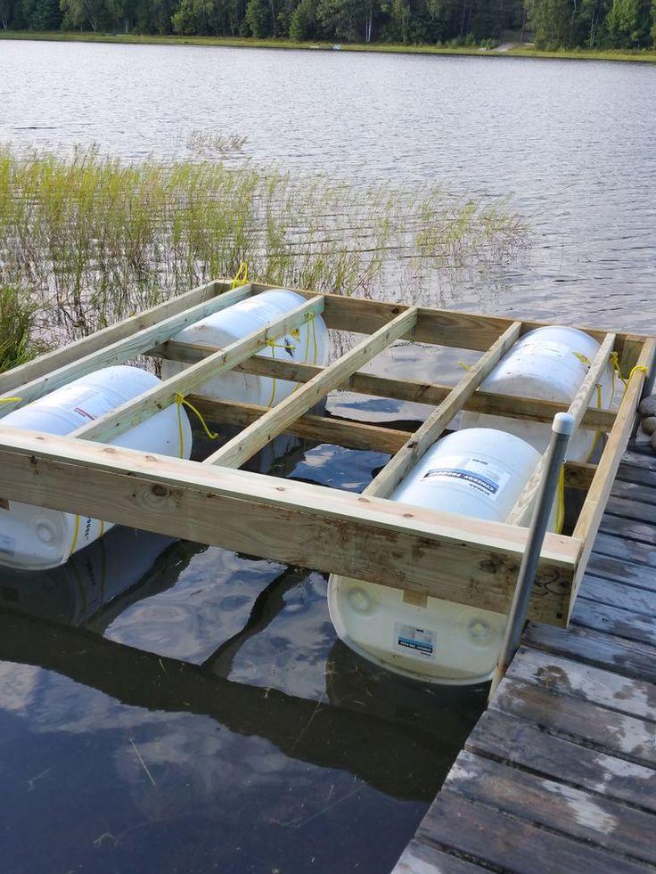 Floating Dock With Barrels Updated Floating Dock