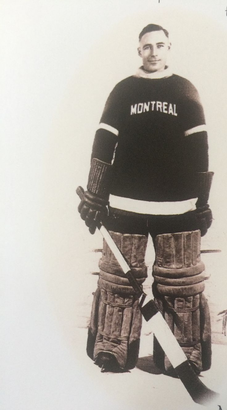 Clint Benedict  - first goalie to wear a mask but only for a few games. It was made of leather. He also helped change the rule to allow goalies to drop to their knees to stop a shot.  MVP 1924-25. See book Hockey Hall of Fame Legends for full story