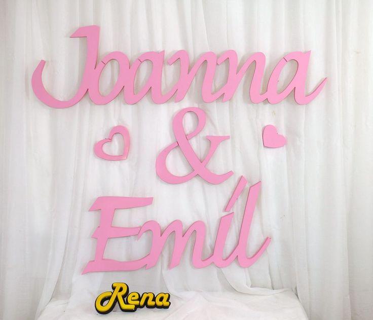 Ślubne imiona  Młodej Pary Joanna&Emil