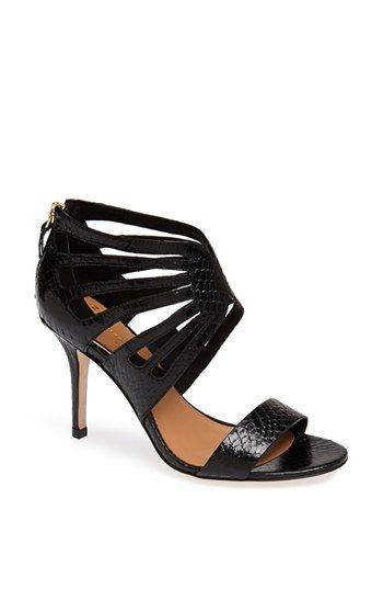 Chiara Genuine Snakeskin Sandal