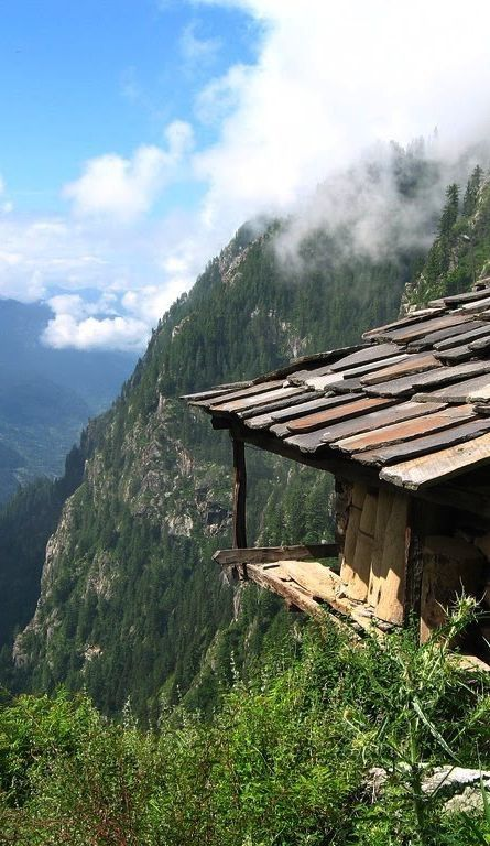 A picturesque spot in the hills of Arunachal Pradesh.