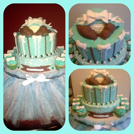 tiffany theme baby shower my creations pinterest