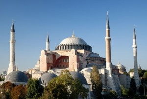 Hagia Sophia: While the Blue Mosque revels in its enchanting simplicity, Hagia Sophia, the second  most popular monument, is charmingly complex. #CoxandKings