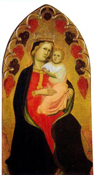 Cennino Cennini - Madonna con Bambino - 1400-1405 - Monte dei Paschi di Siena, Siena