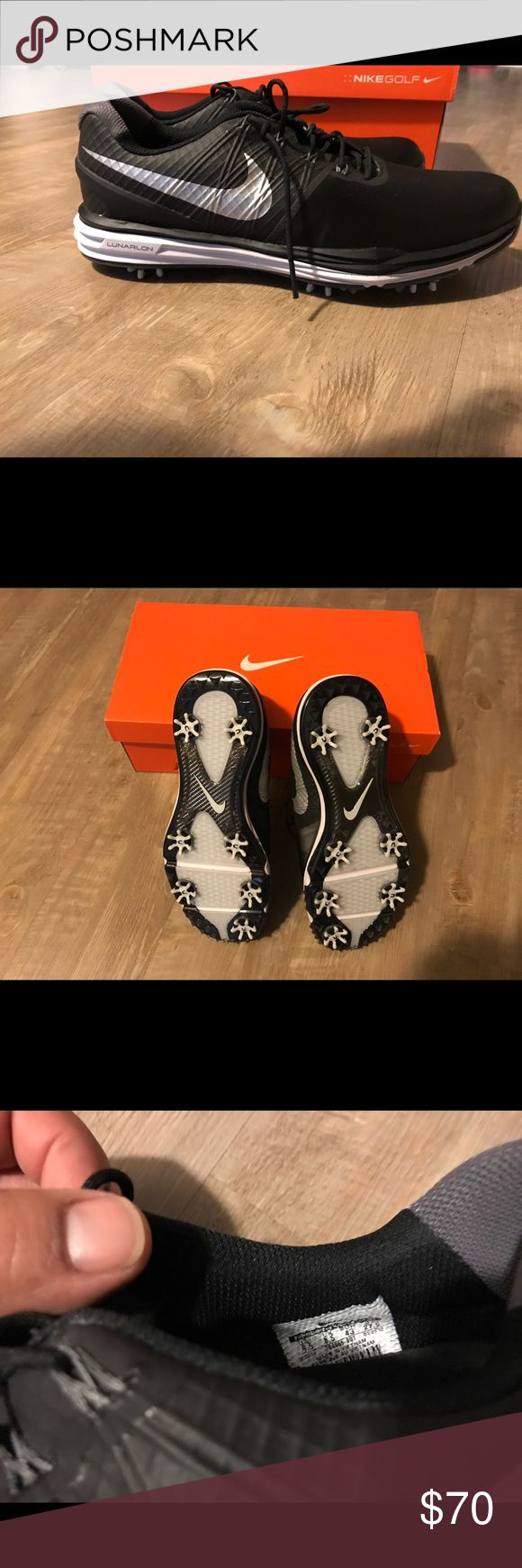 Nike lunar control 4 | size 9.5 | NEW Never Worn | New | Nike lunar control 4 | size 9.5 | replaceable spikes Nike Shoes Athletic Shoes