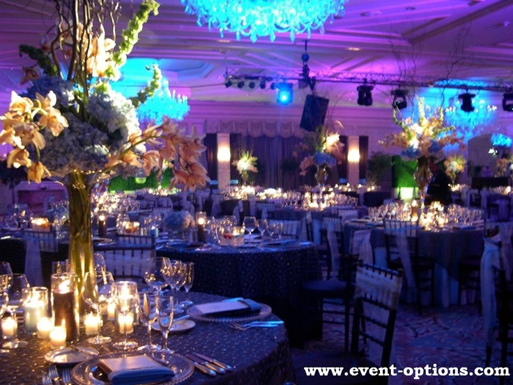 purple and blue lighting make this the ultimate party scene  #blue