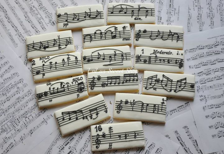Music Note Cookie Sticks | Unknown