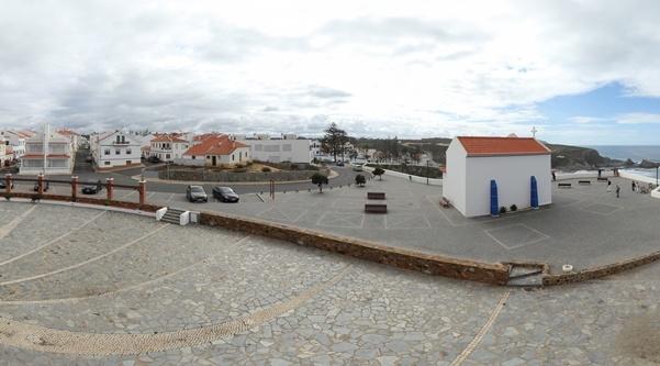 360º Virtual Visit to Capela da Nossa Senhora do Mar, Portugal - via www.visitasvirtuais.com