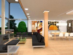 ideas house furniture decor living room lighting landscape dining room ideas
