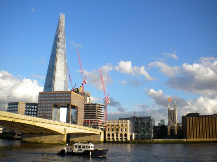 Vista del río Támesis, Londres