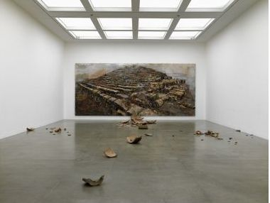 Anselm Kiefer. This is really cool and thought-provoking