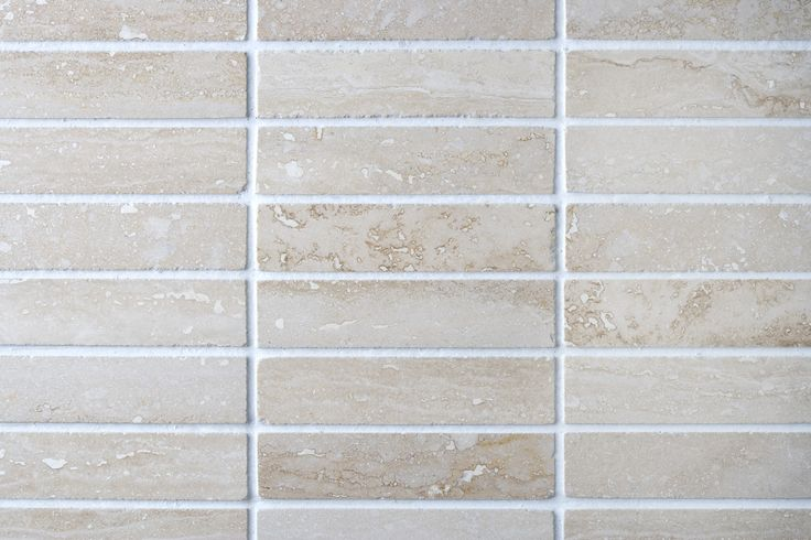 Polished Ivory Vein Cut Mosaic Tiles