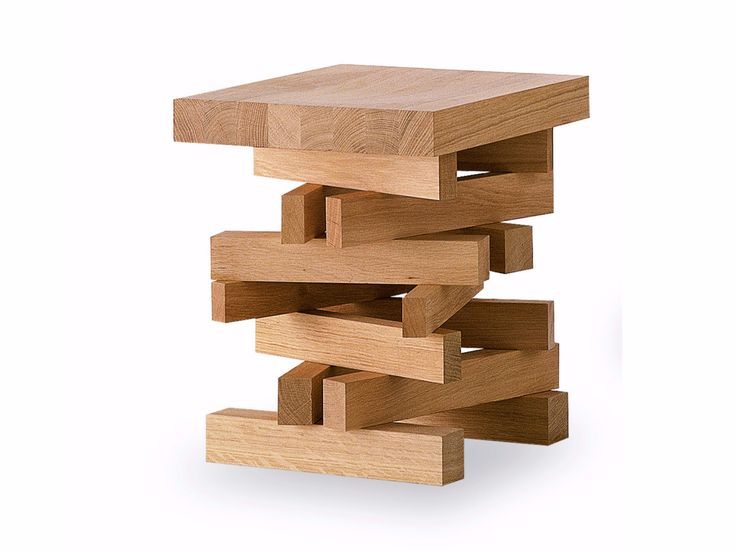 Buy online Falò small | stool By riva 1920, wooden stool design Terry Dwan, falò Collection