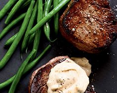 Beef Fillet Steaks with Brown Butter Béarnaise