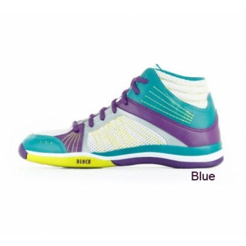Bloch Traverse Mid Dance Fitness Trainers  A high performance full-sole sneaker designer specifically for dance fitness.   Width : M  Price: 55.40€